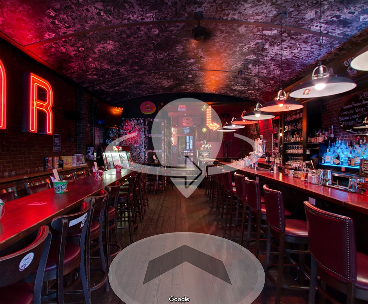 Take a virtual tour of the UWS e's BAR location with Google