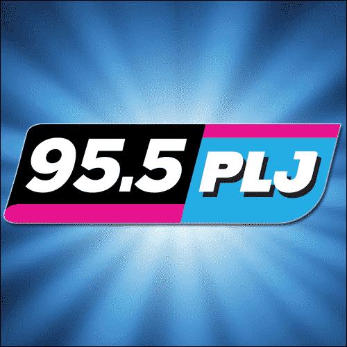 Logo for 95.5 PLJ