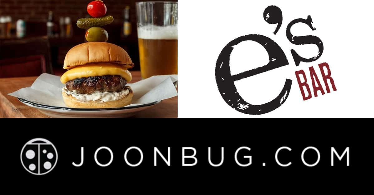 Junebug rates e's BAR's burger as one of the top 5 places