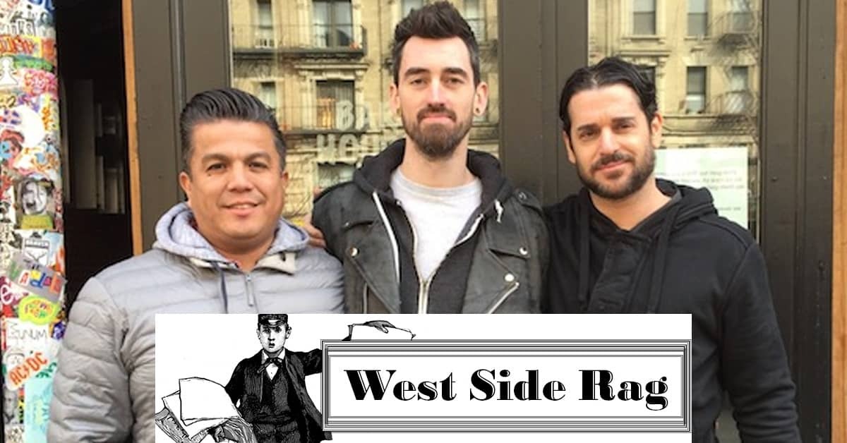 West Side Rag press about building fire and e's BAR bartenders